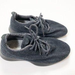 Women's allbird Wool Runner Sneaker Dark Grey 8